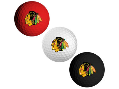 Chicago Blackhawks 3-pack Golf Ball Set