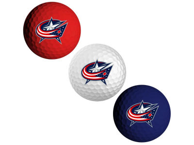 Columbus Blue Jackets 3-pack Golf Ball Set