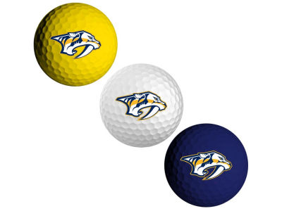 Nashville Predators 3-pack Golf Ball Set