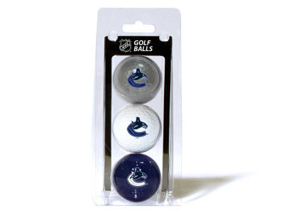 Vancouver Canucks 3-pack Golf Ball Set