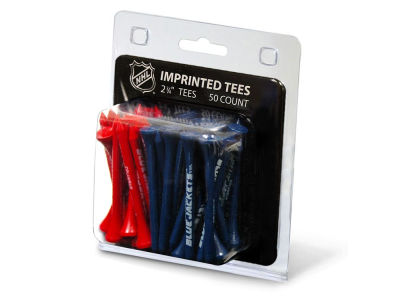 Columbus Blue Jackets 50pk Golf Tees