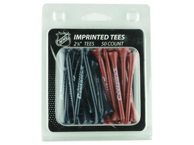 Montreal Canadiens 50pk Golf Tees