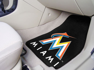 Miami Marlins Car Mats Set/2