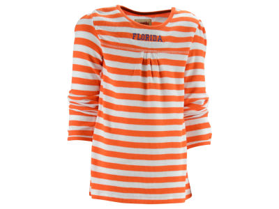 Florida Gators NCAA Girls Sarah Long Sleeve Stripe T-Shirt