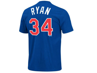 Texas Rangers Nolan Ryan  Majestic MLB Men's Cooperstown Player T-Shirt