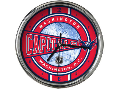 Washington Capitals Chrome Clock
