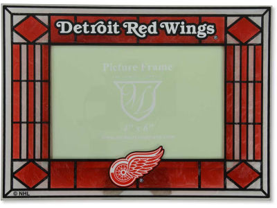 Detroit Red Wings Art Glass Picture Frame
