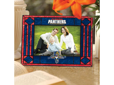 Florida Panthers Art Glass Picture Frame