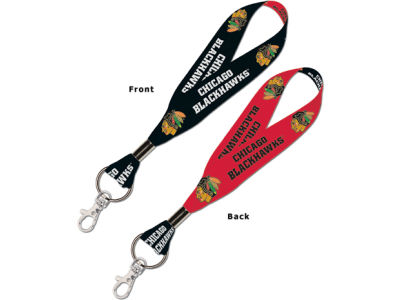 Chicago Blackhawks Lanyard Key Strap