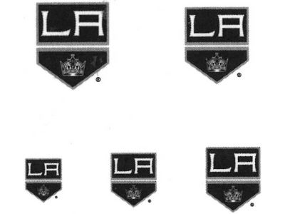 Los Angeles Kings Tattoo Nail