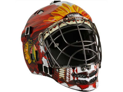 Chicago Blackhawks NHL Replica Goalie Mask