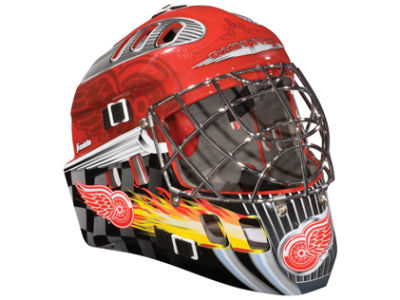 Detroit Red Wings NHL Team Mini Goalie Mask