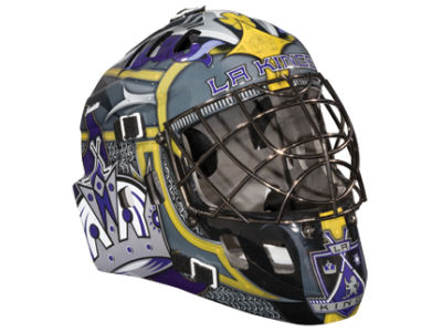 Los Angeles Kings NHL Team Mini Goalie Mask