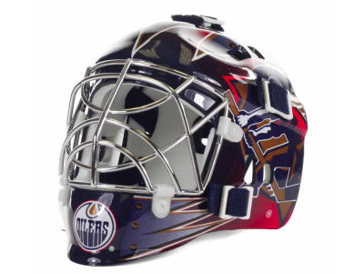 Edmonton Oilers NHL Team Mini Goalie Mask