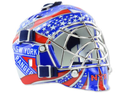 New York Rangers NHL Team Mini Goalie Mask