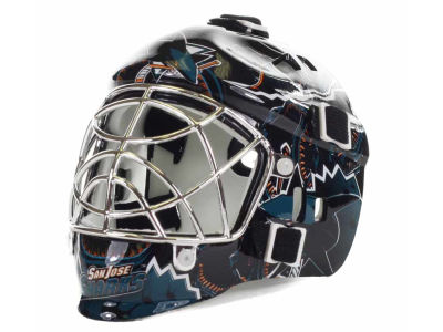 San Jose Sharks NHL Team Mini Goalie Mask