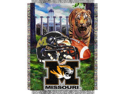 Missouri Tigers 48x60 College Vault Woven Throw