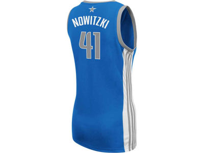 Dallas Mavericks Dirk Nowitzki adidas NBA Womens Replica Jersey