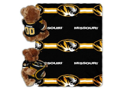 Missouri Tigers Mascot Pillow and Throw Combo