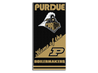 Purdue Boilermakers Beach Towel Emblem