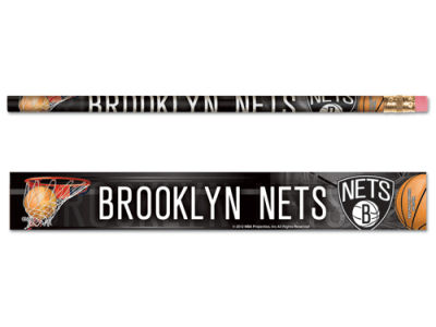Brooklyn Nets 6-pack Pencils