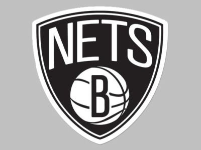 Brooklyn Nets Die Cut Color Decal 8in X 8in