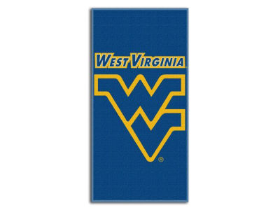 West Virginia Mountaineers Beach Towel Emblem