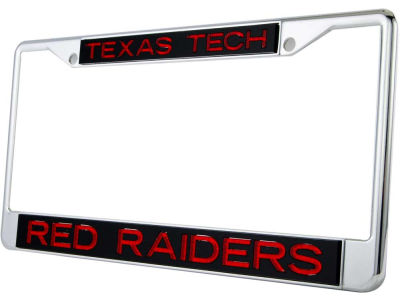 Texas Tech Red Raiders Glitter Laser Frame