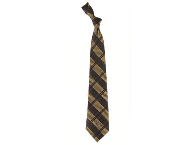 New Orleans Saints Necktie Woven Poly Plaid