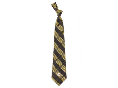 Pittsburgh Steelers Necktie Woven Poly Plaid