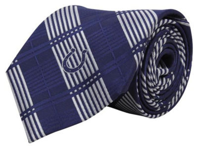 Indianapolis Colts Necktie Woven Poly Plaid