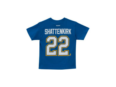 St. Louis Blues Kevin Shattenkirk NHL Youth Player T-Shirt