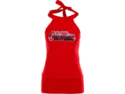 Ole Miss Rebels NCAA Womens Bloused Halter