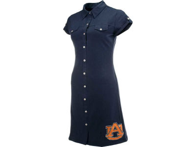 Auburn Tigers NCAA Womens Shirt Dress
