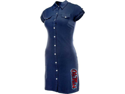 Ole Miss Rebels NCAA Womens Shirt Dress