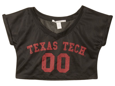 Texas Tech Red Raiders NCAA Womens Cropped Jersey