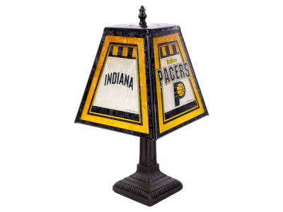 Indiana Pacers Art Glass Table Lamp