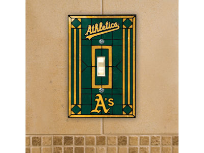 Oakland Athletics Switch Plate Cover