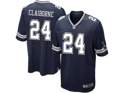 Dallas Cowboys Morris Claiborne Nike NFL Men's Game Jersey
