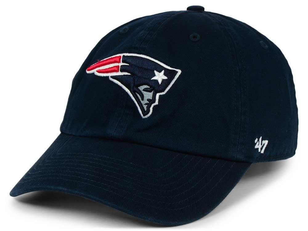 New England Patriots  47 NFL  47 CLEAN UP Cap  77644159ac1