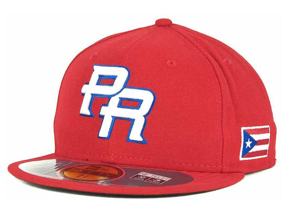 2e7d0134fb9 Puerto Rico New Era 2013 World Baseball Classic Puerto Rico 59FIFTY Cap