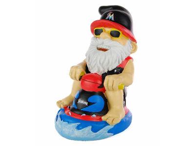 Miami Marlins Second String Thematic Gnome