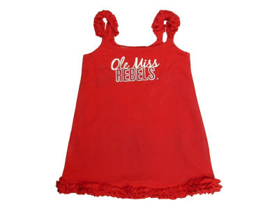 Ole Miss Rebels NCAA Toddler A-Line Ruffle Dress