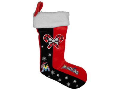 Miami Marlins Team Logo Stocking