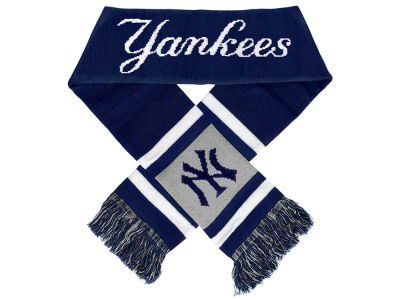 New York Yankees Acrylic Team Stripe Scarf