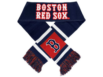 Boston Red Sox Acrylic Team Stripe Scarf