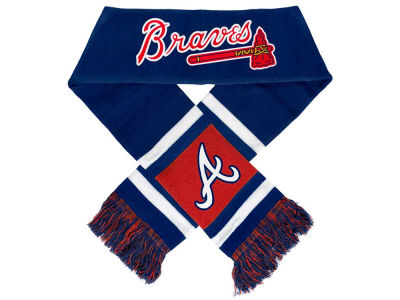 Atlanta Braves Acrylic Team Stripe Scarf