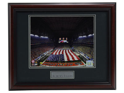 Auburn Tigers Panoramic Deluxe Framed