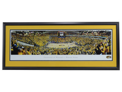 Missouri Tigers Panoramic Deluxe Framed