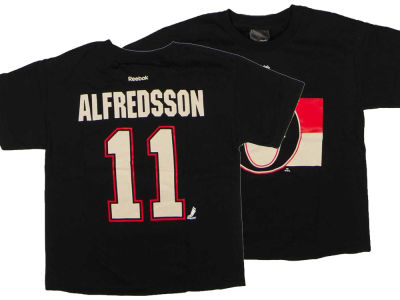 Ottawa Senators Daniel Alfredsson Reebok NHL CN Youth Player T-Shirt